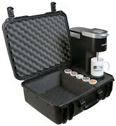 Case Club Keurig K-mini Coffee Maker Case - Also Holds 2 Mugs And 5 K-pods