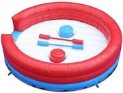 Inflatable Joust Arena Gladiator Duel Interactive Challenge Game For Kids/adults