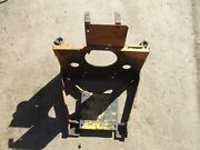 Case 1816b 1816 1816c Skidsteer Engine And Hydraulic Pump And Mounting Plate Mot