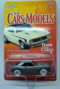 Johnny White Lightning Toy Cars And Models Zamac 1969 Chevy Camaro Rs/ss 1/150