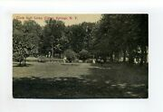Clifton Springs Ny Ontario County Antique Postcard Clock Golf Links People