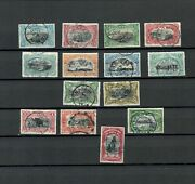 Congo Africa Colonies Postal Used Complete Set Of Stamp Lot Belge 102