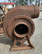 Large Buffalo Forge Co 6 Cast Iron Blacksmith Pulley Driven Blower No 22 Volume