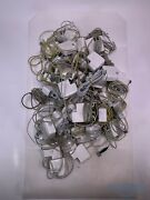Lot Of 40x Apple 45w Magsafe 2 Frayed Chargers Md592ll/a + Sold As Is Untested