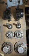 Toyota Fj40 Knuckle And Hub Assembly Andlsquo58-andlsquo75 W/coarse Spline And Selectroandrsquos