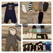 Baby Boys Clothing Lot Size Nb-6m - Most New With Tags Or New Never Wornandnbsp
