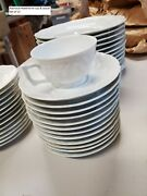 Raynaud Limoges French China Dinnerware, Hawthorne Pattern, Brand New Condition