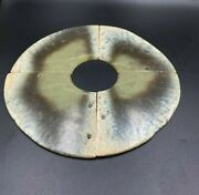 Old Ancient Antique Chines Jade Bi Disc In 4 Segments Pieces Shang Dynasty