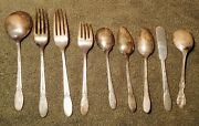 Vintage 1847 Rogers Bros Silver Plated Sylvia Silverware Flatware Assorted Lot