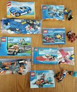 Lego Lot Of 60011, 60032, 60054, 4641, 60090 And 6913 - 399 Total Pcs. No Boxes