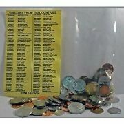 100 World Foreign Coins From 100 Different Countries. Free Identifier List