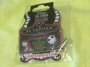 Dssh Dsf El Capitan Marquee The Nightmare Before Christmas Disney Le Pin 80337