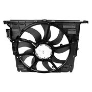 For Bmw 640i Gran Coupe 13-19 Genuine Engine Cooling Fan Assembly