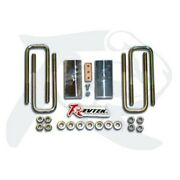 For Toyota Tundra 2007-2018 Revtek 437r 1.25 Rear Lifted Blocks And U-bolts