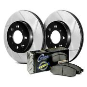 For Bmw X1 12 Stoptech Performance Truck Slotted 1-piece Front Brake Kit