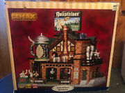 Lemax Village Collection Yulesteiner Brewery Lights Animation And Music
