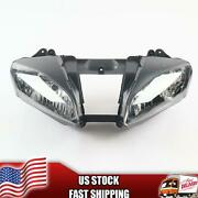 Mt Front Motorcycle Headlight Headlamp Fit For Yamaha 2006-2007 Yzf R6 Z011