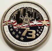 2018 United States Secret Service Unga 73 Usss Challenge Coin Non Nypd