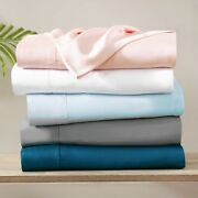 Brielle Home 300 Thread Count Tencelandtrade Lyocell Sateen Sheet Sets And Pillowcases