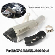 Motorcycle Exhaust Muffler Pipe Carbon Heat Shield Cover For Bmw S1000rr 2015-16