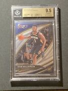 2019-2020 Panini Select Courtside 297 Zion Williamson Rookie Bgs 9.5
