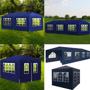 Party Tent Canopy Pavilion Heavy Duty Outdoor Bbq Wedding Gazebo Events Us Blue