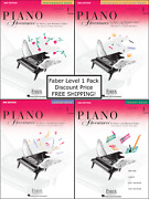 Faber Piano Adventures Level 1 - Pack Set Lesson/theory/perf/technique New