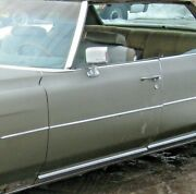 1971 1972 1973 1974 Cadillac Deville Calais Left Front Door Assembly With Glass