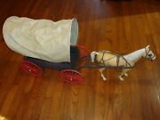 Marx Best Of The West Covered Wagon