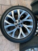 2019 Range Rover Oem Factory 21 Wheels Rims And Tires With Sensors