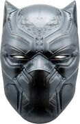 Fiji 2021 5 Marvel Icon Series Comics Black Panther Mask 2oz Silver Relief Coin