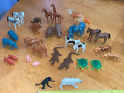 Lot Of Vintage Hong Kong Noahs Ark Animals Figures Only Males And Females