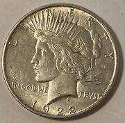 Random Year 1922-1925 1 Peace Silver Dollar Average Circulated