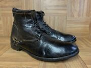 Rare🔥 Officine Creative X Barney's New York Ankle Lace Up Boot Brown Leather 10