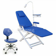 Us Dental Unit Simple Portable Folding Chair /pu Doctor Assistant Stool