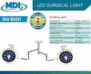 Model 48+48 Led Surgical Light Field Dia 240mm Operation Theater Operating Lamp