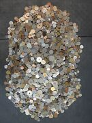 50 Pounds Of Mixed World Coins Lot-47