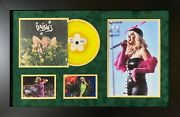 Katy Perry Hand Signed Framed Vinyl Display Music Autograph Daisies Smile Vinyl