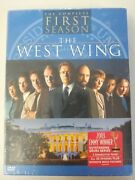 The West Wing The Complete First Season Dvd, 2003, 4-disc Set 1 1999 New