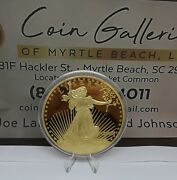 Large Proof Tribute 1907 St. Gaudens Double Eagle