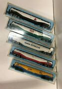 Atlas 94 Foot Tank Car Set 3111, 3112, 3113, 3114 And Unnamed N Scale Set B