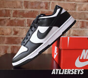 Nike Dunk Low Retro White Black Dd1391-100 Size 4y-13