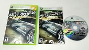Need For Speed Most Wanted Microsoft Xbox 360, 2005 Complete Fast Shipping