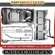 Muscle Cars Engine Oil Pan For Chevrolet Performance Ls1 Ls3 Lsa Lsx Engines