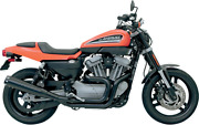 Road Rage 2-into-1 B1 Exhaust System - Black Harley Sportster Xr1200 2009-2012