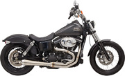 Road Rage Iii 2-into-1 Exhaust System - Brushed Harley Dyna Fxd 1991-2017