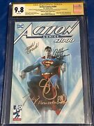 Action Comics 1000 Cgc 9.8 Ss 7x Jim Lee Delland039otto Snyder King Mann +2