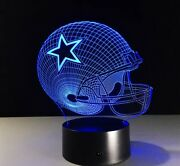 Nfl Football Dallas Cowboys Led Light Lamp Collectible Nice Gift For All Cowboy