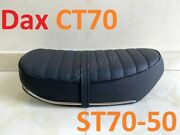 Honda Ct70 Trail 70 St50 St70 Dax New Seat Saddle With Chrome Trip And Strap Style