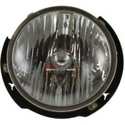 New Halogen Head Lamp Assembly Left Fits 2007-2017 Jeep Wrangler 55078149ad